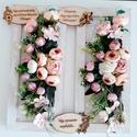 Köszönőajándék esküvőre/ballagásra, A fehér keretbe először csipke szalagot ragaszt...