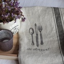 Vintage stílusú konyharuha, Konyhafelszerelés, Edényfogó, Fotó, grafika, rajz, illusztráció, Vintage stílusú konyharuha,  mely a ideális ajándék névnapra , születésnapra főzni imádóknak, magya..., Meska