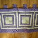 Milka színű falvédő, Otthon, lakberendezés, Lakástextil, Falvédő, Pamutvászonból készült vastag vatelin béléssel. Mérete: 190 cm*60 cm., Meska