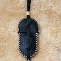 Bicskatok, Férfiaknak, Hagyományőrző ajándékok, Bicskatok, marhabőrből készült, kézi varrással. Méret: hossza: 15 cm, szélessége: 6 cm., Meska
