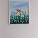 Tavaszi virágok, Művészet, Festmény, Akril, Festészet, Tavaszi virágok 50*60 cm farost. Jó minőségű akril festékkel dolgozom. Szeretem a jól pigmentált, é..., Meska