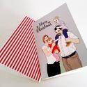 családi üdvözlőlap/ esküvői kísérőlap, Esküvő, Naptár, képeslap, album, Meghívó, ültetőkártya, köszönőajándék, Nászajándék, Különleges, alkalmi (családi) üdvözlőlap akár karácsonyra, akár esküvőre ajándék mellé kísérőlapnak...., Meska