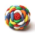 Multicolor Extra-gyűrű valódi bőrből, Ékszer, Gyűrű, Rengeteg szín, rengeteg szirom, rengeteg munka dicséri ezt az extra virágot! Színes virág,színes egy..., Meska