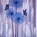 Pitypang, Otthon, lakberendezés, Képzőművészet, Festmény, Akril, 30*40-es vászonra készült, akril festékkel, Meska
