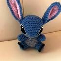Stitch, Játék, Játékfigura, Lilo és Stitch - A csillagkutya tündéri kis figurája. Mérete : 9cm.  Hatalmas lapátfülei kék színűek..., Meska