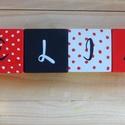 Betűkockák -Selina, Dekoráció, Játék, Fajáték, A betűkockák mérete 4x4x4 cm Kézzel festett mintával és betűvel díszítve!, Meska