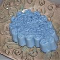Kék agyagos feszesítő, méregtelenítő szappan, Férfiaknak, Szépségápolás, Borotva, szappan, pipere, Szappan, tisztálkodószer, Kozmetikum készítés, Szappankészítés, Ez a szappan igazi megújító, frissítő fürdőzést biztosít. Arcra is kiválóan alkalmas.  Férfias kiné..., Meska