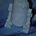 A Csillagok háborúja Star Wars R2D2-ja szappan , Szépségápolás, Szappan, tisztálkodószer, Natúrszappan, Fürdőszobai kellék, Megérkezett a legújabb,  jól habzó, egyedi R2D2 alakú szappanom! Gyerekek is bátran használhatják, é..., Meska