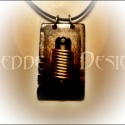 """MeddeDesign Teslapunk  Nyakék \""""Tesla Coil 0004\"""", Nikola Tesla zseniális munkásságának állítok..."""