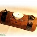 Törp (Dwarf) kocsmai mécsestartó -fekvő-, Középfölde ihlette Törp (Dwarf) (kocsma)asztal...