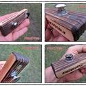 Egyedi Steampunk BDW Medde Sörnyitó II., Férfiaknak, Konyhafelszerelés, Sör, bor, pálinka, Steampunk ajándékok, Egyedi - mágneses - BDW (Burn Drift Wood) Medde Palacknyitó (két azonos véletlenül sem készül, így a..., Meska