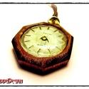 TT Concept™-SteamPunk  Időutazó Nyakék 005, Ékszer, Nyaklánc, TT Concept™ (TimeTraveller) Steampunk Időutazó Nyakék. Fantasy látványvilágú, az azonos nevű történe..., Meska