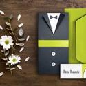 PRITY ESKÜVŐI SZETT (meghívó + ültetőkártya)