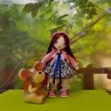 Zsuzsu baba, rózsaszín pulcsiban, Baba-mama-gyerek, Játék, Baba játék, Baba, babaház, Baba-és bábkészítés, 26 cm-es babám tud ülni,állni.Szép hosszú haja fésülhető.Ruhái levehetőek,cipője és alsóneműje nem...., Meska