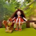 Zsuzsu baba,narancsszínű szoknyában, Baba-mama-gyerek, Játék, Baba, babaház, Baba játék, Baba-és bábkészítés, 26 cm-es babám ruhái levehetőek,cipője és alsóneműje nem.Tud ülni és állni. Szép hosszú haja fésülh..., Meska