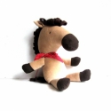 Ló játékfigura Plüss játék Plüss figura, Játék, Plüssállat, rongyjáték, Ló játékfigura. Magassága (állítva) 45 cm. Fém és műanyag alkatrészeket nem tartalmaz. Szeme hímzett..., Meska