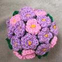 Cserepes virág - ami sosem hervad el, Otthon, lakberendezés, Szerelmeseknek, Anyák napja, Horgolt cserpes virág  Tökéletes meglepetés anyák napjára, valentin napra, névnapra - ha Te s..., Meska