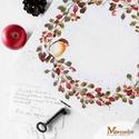 Csipkebogyós ajándékátadó doboz, Otthon & lakás, Lakberendezés, Tárolóeszköz, Doboz, Kézzel festett csipkebogyóval és vörösbeggyel díszített fadoboz, amivel ünnepélyessé és stílusossá t..., Meska