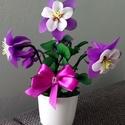 Harangláb virág, Otthon & Lakás, Dekoráció, Csokor & Virágdísz, Virágkötés, Anyák napja, névnap, születésnap,vagy más alkalom? Jó választás a képen látható harangláb virág. Ke..., Meska