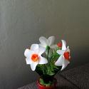 Harisnya virág, Otthon & Lakás, Dekoráció, Asztaldísz, Virágkötés, Kedves ajándék lehet gyerekeknek névnapra, születésnapra, vagy más alkalomra! Tartós és nem szárad ..., Meska