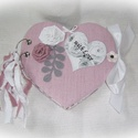 Rózsaszín szív alakú mini fotóalbum 2. esküvő, barátság, valentin, Esküvő, Naptár, képeslap, album, Nászajándék, Fotóalbum, Szív alakú album fotóknak.  Tökéletes ajándék akár lánybúcsúztatóra is. Gyűjtsétek össze kedvenc fot..., Meska