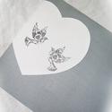 Vendégkönyv fából, ezüstszürke falikép, rusztikus, esküvő, Esküvő, Szerelmeseknek, Esküvői dekoráció, Festett tárgyak, Famegmunkálás, Hagyományos könyv helyett készült ez a  fa esküvői vendégkönyv. Helyezzétek egy asztalra a nagy nap..., Meska