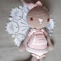 Amigurumi nagy nyuszi!, Magas minőségű, vastag fonalból készült szer...