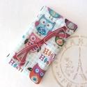 KÉSZLETKISÖPRÉS! - Baglyos  szemüveg vagy mobiltok, Prémium  minőségi textilből készült ez a bag...