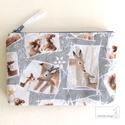Bambi és barátai pénztárca, irattartó, Táska, Pénztárca, tok, tárca, Neszesszer, Pénztárca, Prémium minőségű pamut textilből készült ez a pénztárca, irattartó. Használhatod az irataid tárolásá..., Meska