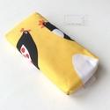 Csibés zsebkendőtartó Laura71 felhasználónak, Prémium minőségű, csibés pamut textilből ké...