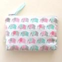 Elefántos irattartó pénztárca  prémium textilből - Artiroka design