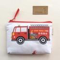 Tűzoltóautós pénztárca  - GYEREKNAP -  Artiroka design