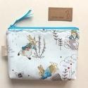Beatrix Potter designer textilből készült nyuszis irattartó pénztárca - Artiroka design, Beatrix Potter prémium pamut textilből készült...