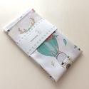 Zsebkendő szett - Nyuszi és  Róka mintás pamut textilből - NoWaste, Prémium pamut textilből készült ez a nyuszi, r...