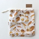 NOWASTE kenyeres bevásárló zacskó - ÖKO zsák - Környezetbarát - Artiroka design