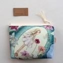 A Tavasz tündér már készülődik!  - egyedi irattartó pénztárca - Artiroka design , Prémium pamut textilből készült az csodás, ta...