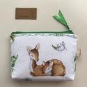 Bambi gyermeke - irattartó pénztárca, neszesszer -  Artiroka design