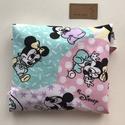 ÖKO szalvéta, szendvics - uzsonna csomagoló, Mickey  egeres, vízhatlan belsővel / NoWaste leírása- Artiroka design