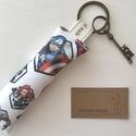 Marvel hősök kulcstartó HOPE azaz remény vintage kulcs medállal - Artiroka design