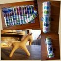 Ceruzatekercs és lovacska Anett részére, Ez a vízilovas pamuttextilből készült ceruzate...