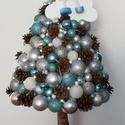 Karácsonyfa Angyalkával