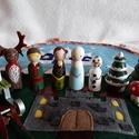 MeseTarisznya: Jégvarázs - Anna és Elza, Játék, Fajáték, Készségfejlesztő játék, Játékfigura, Hosszú utazásokon, autóban, repülőn, vagy egy téli estén játszhat gyermeked ezzel a hordozható mesév..., Meska