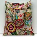 Virágos táska, Gyönyörű hatalmas virág mintájával igazán s...