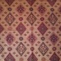 antik hatású falvédő, Otthon, lakberendezés, Lakástextil, Falvédő, Varrás, Bútorvászonból készült, rusztikus  mintájú falvédő, mérete 95x 145 cm, , Meska