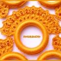 Horgolt szalvétagyűrű szett narancs színben, Dekoráció, Otthon, lakberendezés, Ünnepi dekoráció, Lakástextil, Horgolt szalvétagyűrű szett  narancs színben, horgolócérnából, gyöngy díszítéssel, műan..., Meska