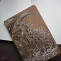 Sárány Skiccfüzet, Naptár, képeslap, album, Jegyzetfüzet, napló, A/5-ös méretű, puha kötésű, 42 lapos, üres, sárgás lapú, egyedi füzet. Vázlatfüzetek, s..., Meska