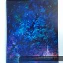 Somewhere far Olajfestmény, Képzőművészet, Dekoráció, Festmény, Olajfestmény, Festészet, 40x50 cm-es olajfestmény feszített vászonra elkészítve, Meska