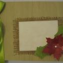 Napló (album) téli, karácsonyi fényképekhez, gondolatokhoz, Naptár, képeslap, album, Dekoráció, Ünnepi dekoráció, Karácsonyi, adventi apróságok, Papírművészet, Téli kirándulást, szánkózást, utazást, karácsonyi élményeket megörökítő fotókat helyezhetsz el az a..., Meska