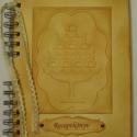 Ajándékötlet cukrászoknak: Receptkönyv - különleges, egyedi receptekhez  - torta, Naptár, képeslap, album, Konyhafelszerelés, Jegyzetfüzet, napló, Receptfüzet, Papírművészet, A különleges, egyedi receptjeidet gyűjtheted össze a receptkönyvben, melyben az elkészült süteménye..., Meska