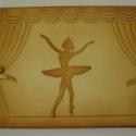Emlékmegőrző - album - zene , színház, balettkedvelőknek, Naptár, képeslap, album, Mindenmás, Jegyzetfüzet, napló, Hangszer, zene, Papírművészet, Zene-, színház- és balettkedvelő barátodnak, autogramgyűjtőknek,  balett(tánc)tanárodnak adhatod aj..., Meska